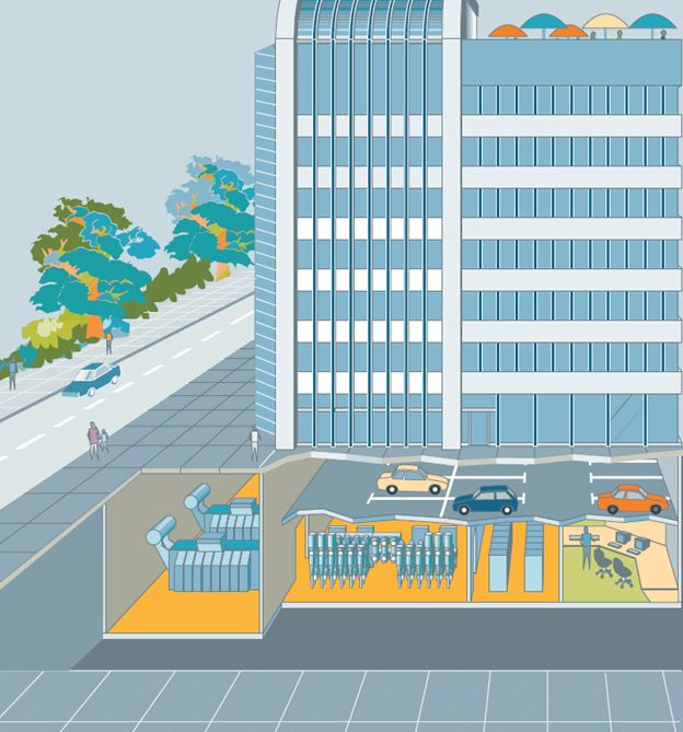 Подстанция на базе КРУЭ в современном мегаполисе