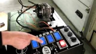 испытание тягового электродвигателя