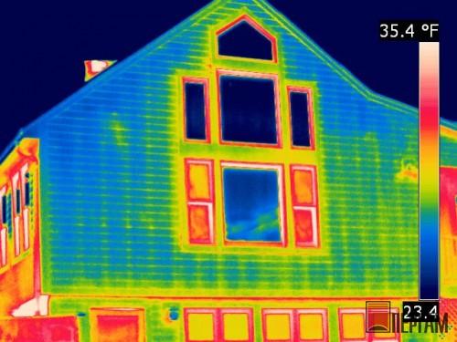 Тепловизионное обследование частного дома даст
