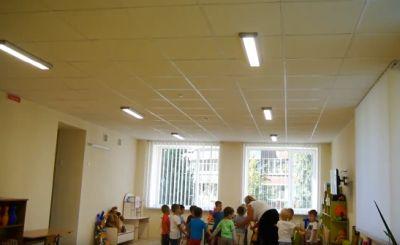 освещение в детских садах