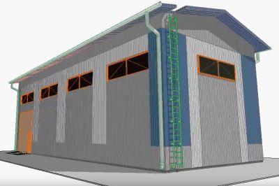 Проект электроснабжения нежилых помещений