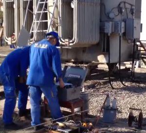 Прожигание силовых кабелей