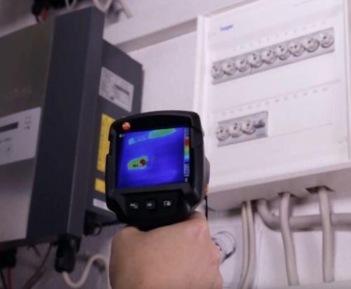 Тепловизионное обследование коммутационных аппаратов