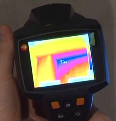 Тепловизионные измерения подстанции