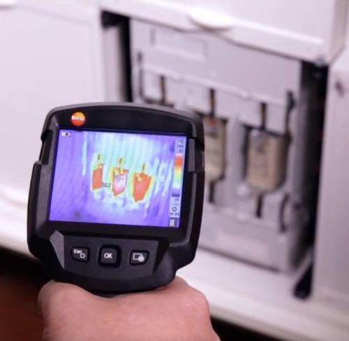 Тепловизионное обследование масляных выключателей